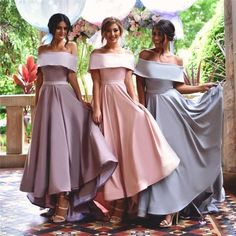 Pretty Junior Young Girls Unique New Arrival Straight Neck Long High Quality Custom Make Bridesmaid Dresses, WG150 The short bridesmaid dresses are fully lined, 4 bones in the bodice, chest pad in the