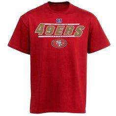 San Francisco 49ers Control the Clock II T-Shirt - Scarlet