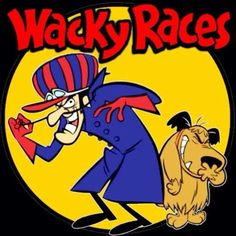 The classic theme to the old-school tv show Wacky Races Classic Cartoon Characters, Cartoon Tv Shows, Favorite Cartoon Character, Classic Cartoons, Comics Und Cartoons, Old School Cartoons, Cartoon Kunst, Cartoon Art, Rugrats