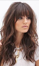 Love these bangs.