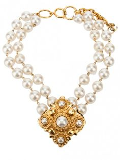CHANEL - Vintage - Pearl necklace