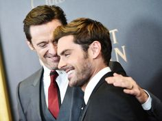 I love the way Hugh looks at him. He's just so proud and happy.