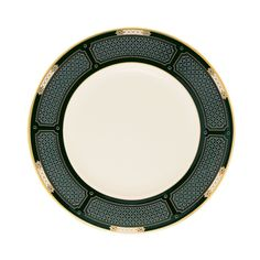 This Lenox Hancock accent plate complements Hancock dinnerware while also presenting a distinctive presence of its own. The prominent and elegant design on ivory bone china is an elegant combination o