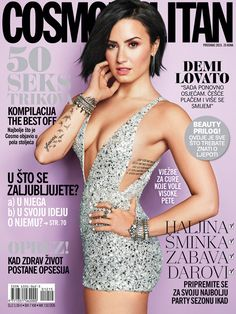 Demi Lovato Looks Extremely Hot for 'Cosmopolitan' Cover!: Photo Demi Lovato shows off her amazing figure while posing for the cover of Cosmopolitan's September 2015 issue, on newsstands August Here is what the Demi Lovato Body, Pelo Demi Lovato, Cuerpo Demi Lovato, Demi Lovato Cover, Vogue Japan, Vogue Uk, Vanity Fair, V Magazine, Magazine Covers
