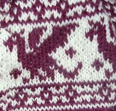 Red Dragon Chart - Pattern is free on Ravelry