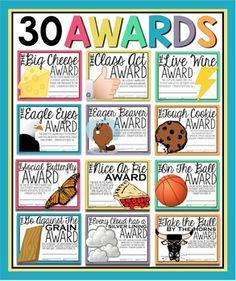 Teacher Awards, Student Awards, Teacher Appreciation Week, Teacher Humor, Funny Awards For Students, Fun Awards For Employees, Employee Appreciation, Funny Certificates, Award Certificates