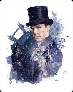 Sherlock: The Abominable Bride hmv Exclusive Steelbook