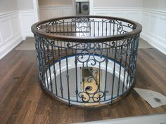 Canvas of Rod Iron Railing for Interior and Exterior Decorations