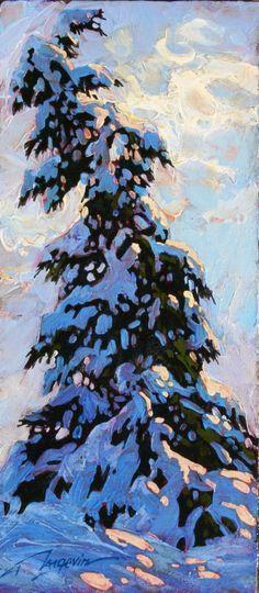 snow swirls 12x5 ap