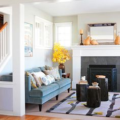 Using fewer colors in a small space makes it seem bigger: http://www.bhg.com/decorating/small-spaces/strategies/space-solution-every-room/?socsrc=bhgpin011214fewercolorsinasmallspace&page=14