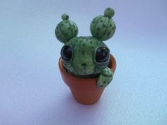 Hey, I found this really awesome Etsy listing at https://www.etsy.com/listing/245810409/handmade-cactus-sculpture-cute-potted