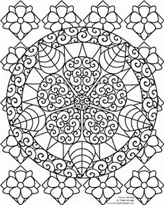 Pin by Terry Gozeski on Coloring Pages | Pinterest | Mandala ...