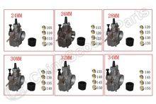 Koso keihin oko pwk sproeier carburateur carb 24mm 26mm 28mm 30mm 32mm 34mm RTL250 CR80 CR85R CR125 NSR50 NSR80 atv buggy onderdelen(China (Mainland))