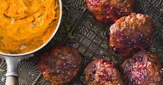 These beef and beetroot rissoles are a taste sensation, whether you barbecue or pan-fry them. Combine with a smooth pumpkin mash for an easy dinner winner.