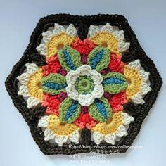 Transcendent Crochet a Solid Granny Square Ideas. Inconceivable Crochet a Solid Granny Square Ideas. Crochet Squares Afghan, Crochet Blocks, Granny Square Crochet Pattern, Crochet Motif, Crochet Stitches, Knit Crochet, Crochet Granny, Granny Squares, Crochet Puff Flower