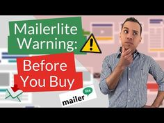 MailerLite Headaches: Honest Review Of Mailerlite - YouTube Marketing Software, Marketing Tools, Email Marketing, Digital Marketing, Evernote, Lead Generation, Online Business, Learning, Top