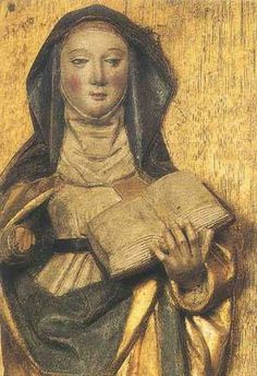 Birgitta of Sweden, renewer of the church, died 1373  Birgitta married at age thirteen and had four daughters.Widowed at age thirty-eight, she gave all that she owned to the poor, and founded a community of monks and nuns led by a woman. She mediated between warring rulers, and warned the Pope at Avignon that it was his duty to return to Rome. Her work is continued today by the Society of St. Birgitta.