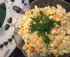 Rezept gesunder Coleslaw / Krautsalat (ohne Mayo!) von sonnenfix - Rezept der Kategorie Vorspeisen/Salate