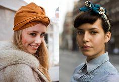 Cinco jeitos de usar lenços para disfarçar o bad hair day