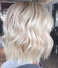 Crisp and creamy blonde bob. Colour and cut by Melissa - Styled using @cloudnineoz standard iron. #olaplexau #telleishblondes #blondespecialist #bob #olaplex #blondehair #blonde #hair #haircareaust #lakmecolour