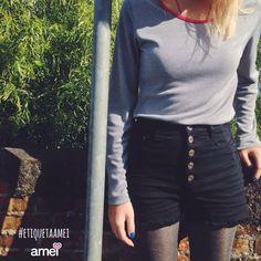 Listras❤️ #lojaamei #shorts #hotpant #muitoamor #novidades #etiquetaamei