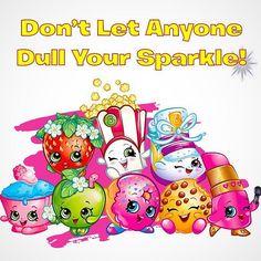 Shopkins never let anyone dull their sparkle! #wednesdaywisdom #wisdom #beyourself #toystagram #heyletsplay #toystagram #smyths #smythstoys #smythstoyssuperstores #cute #wednesday #shopkins #shopping #sparkle