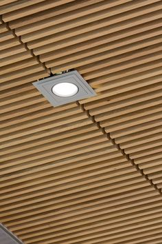Wood Ceiling | Hunter Douglas Architectural Europe