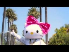 Repin this supercute Hello Kitty Big Pink Bow video to your contest board (after you've pinned the Contest Pin) and you're on your way to a chance to win one of 10 Sephora Hello Kitty Big Pink Bow gift sets! #SephoraHelloKitty