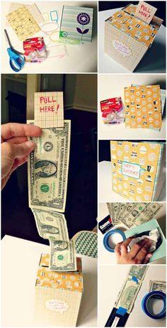 O una caja de Kleenex con efectivo.