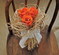 Birds Nest Bouquet Wedding Bouquet Bridal by TALLCOTTONnPEAS