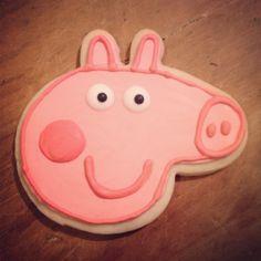 Peppa pig cookie