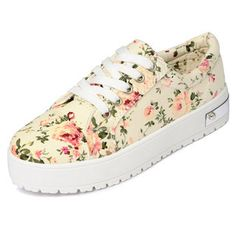 Buy 'yeswalker – Floral Platform Sneakers' with Free International Shipping at YesStyle.com. Browse and shop for thousands of Asian fashion items from Hong Kong and more!