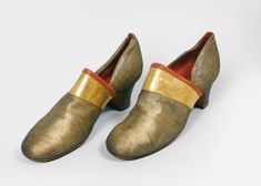 J. ON for Paul Poiret, circa 1924   PAIR OF SHOES