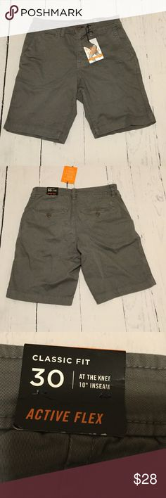 """Active Flex Gray Shorts 10"""" inseam. Brand new with tags. Classic fit. At the knee. Active Flex Shorts. American Eagle Outfitters Shorts"""
