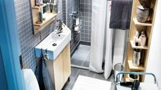 L'aménagement d'une petite salle de bain Ikea