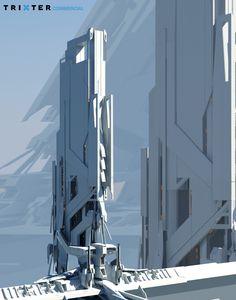 ArtStation - Environment concept art, Michael Oberschneider