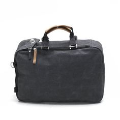 Overnighter Washed Black - Reisetasche By : QWSTION