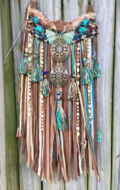 Women Shoes A 2019 Handmade Brown & Turquoise Leather Fringe Bag Festival Boho Gypsy Purse B. Hippie Bags, Boho Bags, Hippie Purse, Gypsy Bag, Boho Gypsy, Joy Clothing, Boho Accessories, Festival Accessories, Unique Purses