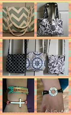 Adorable crossbody purses, custom jewelry and monogramming!