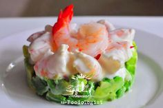 Asian style Prawn Cocktail – – – Famous Last Words Prawn Recipes, Entree Recipes, Salmon Recipes, Seafood Recipes, Cooking Recipes, Healthy Recipes, Prawn Starters, Easy Starters, Bbq Deserts