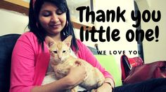 Thank you Pixie for adopting us! A gift for Pixie-our mischievous kitten