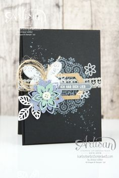 Stampin´ Up! - Artisan Design Team - Thinlits Blütenpoesie…