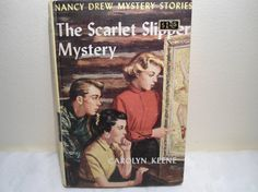 LOVE Nancy Drew books. I almost have the entire set. When I was younger I would read them with my dad. Good times...