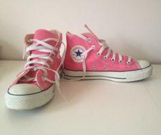 Converse all star - rosa! på Tradera. 37/37,5 | Sneakers & vardag |