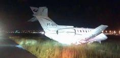 Avi�o com A�cio Neves faz pouso de emerg�ncia em Guarulhos