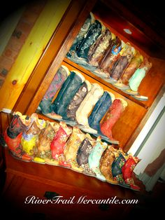 Cowgirl Boots at http://www.rivertrailmercantile.com