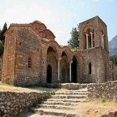 Medieval City of Mystras, Peloponnese /