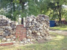 Stone wall of Truman Capote's house in Monroeville | Flickr - Photo Sharing!