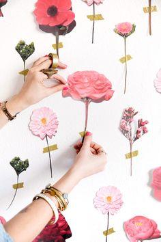 47 Pcs Heart /& Flowers Gemstone Stickers Martha Stewart Free Shipping  NIP