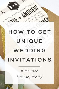 How to get unique wedding invitations without the bespoke price tag      | Modern Wedding Invitations + Personalised Stationery. Paper Arrow Press, Modern Wedding Invites & Stationery     #modernweddingstationery #weddingstationery #weddinginvitation #weddingplanning #modernwedding #weddingstyle #weddingdetails #weddinginvitations #weddingdesign #savethedate #bridetobe #bridetobe2017 #bridetobe2018 #weddinginspiration #weddingplanningadvice